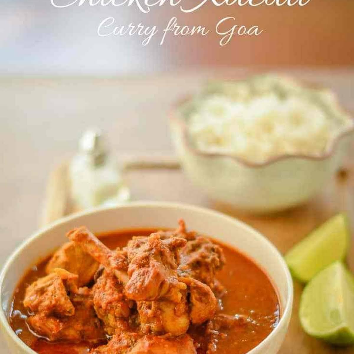 Chicken Xacuti, Goan Curry