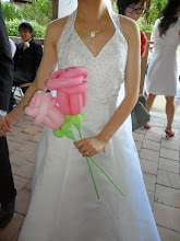 Photo: Balloon twisting is even great for weddings.Book Heidi by calling 888-750-7024