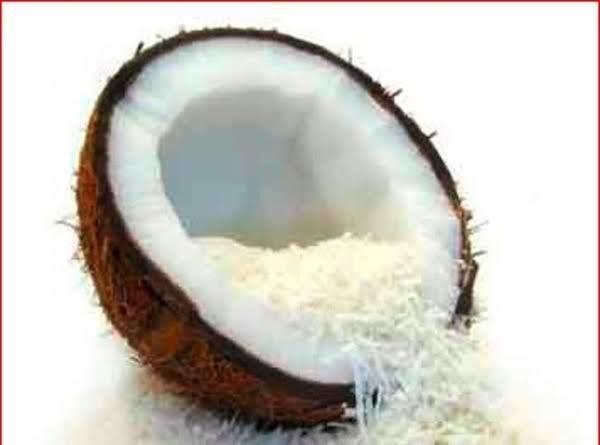 Grandma's Coconut Custard Recipe