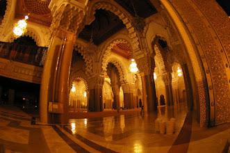 Photo: Intérieur de la grande Mosquée (on ne pouvais pas entrer plus loin)