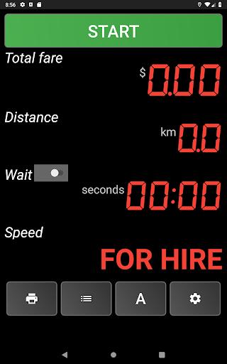 TAXImet - Taximeter 4.3 screenshots 9