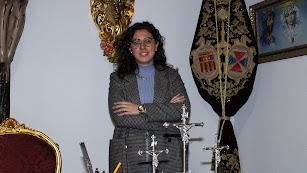 La hermana mayor del Prendimiento, María del Mar Marín.