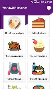 Download Recipy: Popular and Famous Recipes Worldwide. For PC Windows and Mac apk screenshot 1