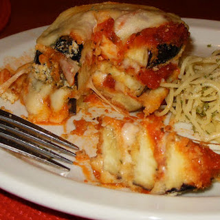 3 – Layer Baked Eggplant Parmesan