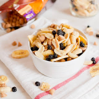 Peanut Butter and Jelly Trail Mix.