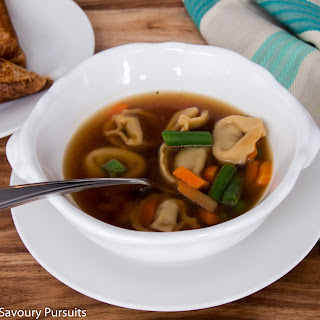 Quick and Easy Beef Tortellini Soup Recipe
