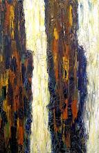Photo: Canyon Falls Medium - Oil Size 100cmx150cm Price $600 Sold