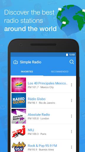 Simple Radio - Free Live FM AM  screenshots 4