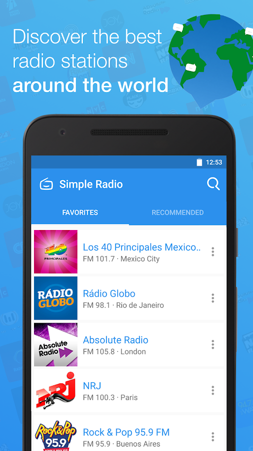 Simple Radio - Free Live FM AM- screenshot