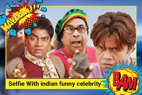 Indian funny Celebrity Selfie Photo Editor - náhled