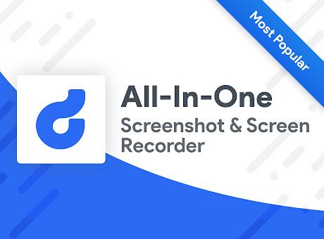 Screenshot & Screen Recorder w/ Webcam-Droplr