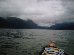 Photo: Heading NW up Calm Channel toward Stuart Island.