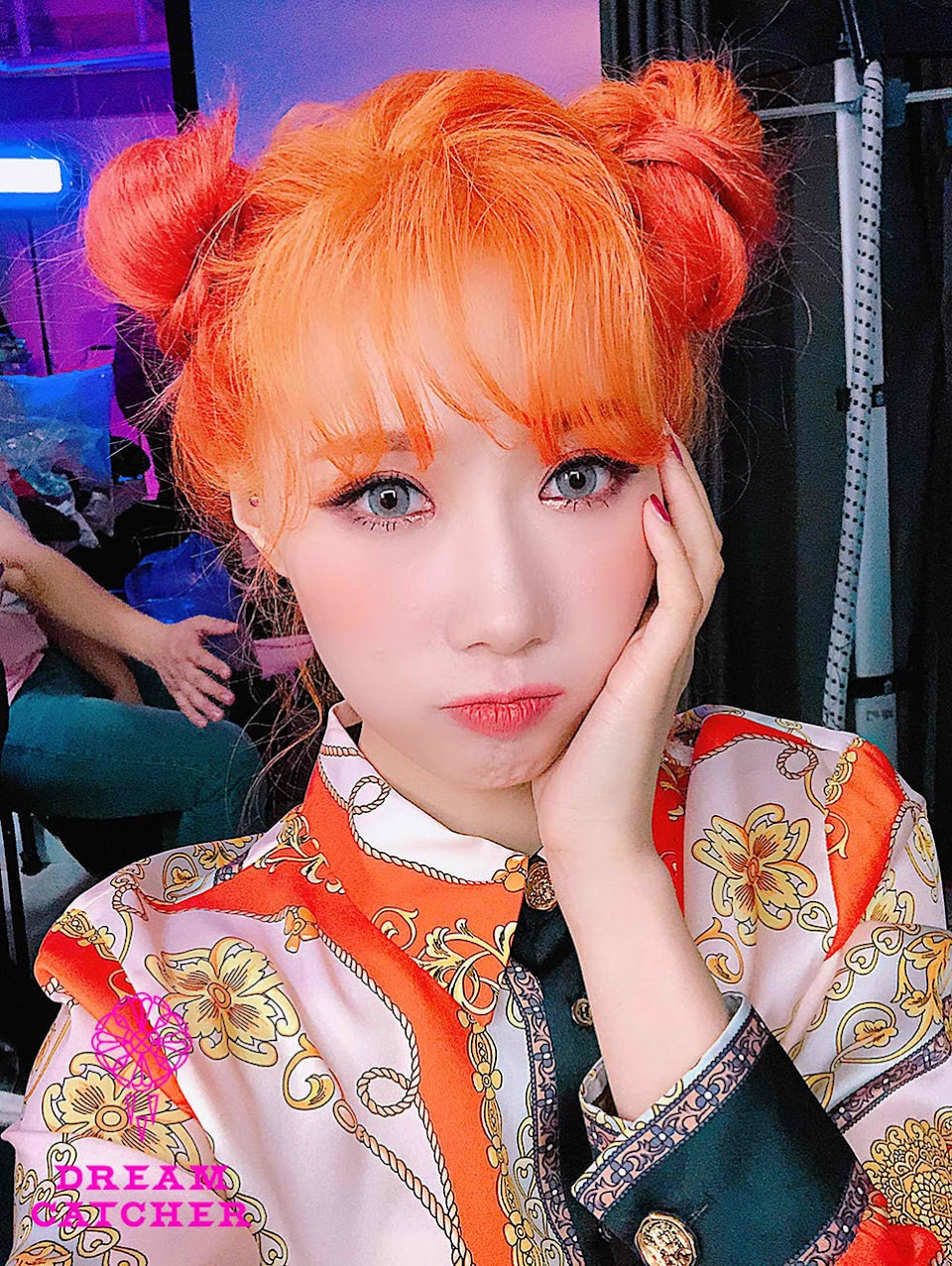 orange handong dreamcatcher