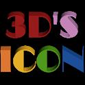 3D ICON Go launcher theme icon