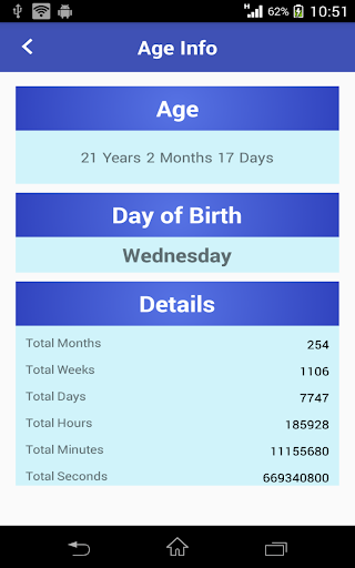 玩免費生活APP 下載年齡計算器 app不用錢 硬是要APP