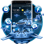 Download App Digital 3D Space Galaxy Theme