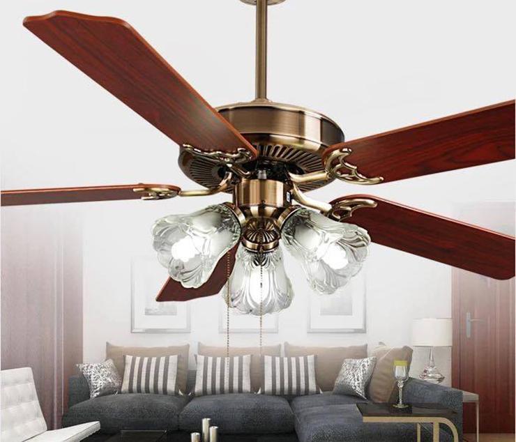 Những điều cần chú ý để sử dụng quạt trần trang trí hiệu quả, bền bỉ