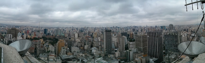 Photo: View from the top of Banespa