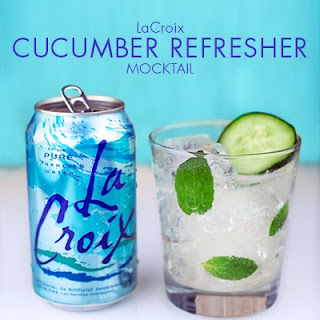 Cucumber Refresher Mocktail.
