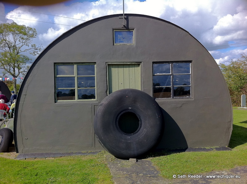 Photo: Circles within circles.93rd Bombardment Group Museum, Station 104, Hardwick,  Norfolk, UK.