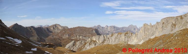 Photo: Panorama 3 Latemar e Catinaccio dal Passo Le Selle