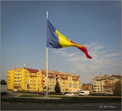 Photo: Turda - Piața Romană - Drapelul României  - 2019.04.02