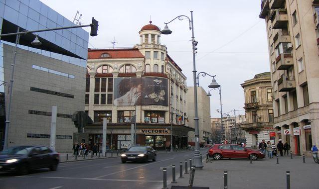 Traffic on Victoria Avenue Bucharest