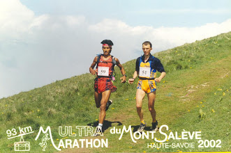 Photo: ultramarathon du saleve 2002