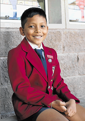 Hudson Park Primary pupil Mishay Rama, 9, recently won the Grade 3 Cluster Spelling Bee in East London and will be competing at the regional competition