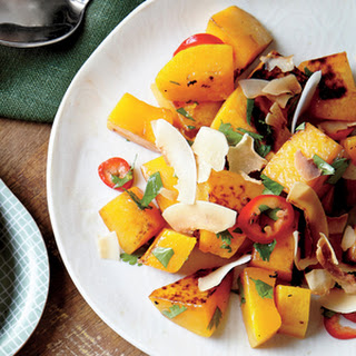 Roasted Butternut Squash with Coconut and Chile