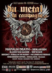 Du Metal A La Campagne 2016