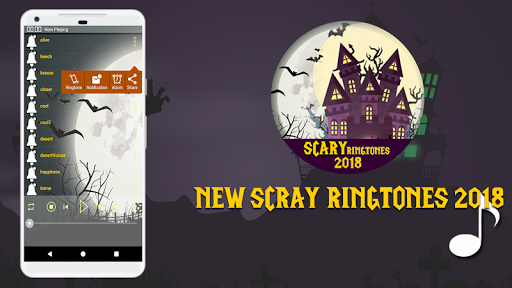 Scary Ringtones & Sounds 2018 &  Ghost mp3 ☠ image 2
