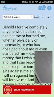 ForgiveIt - náhled
