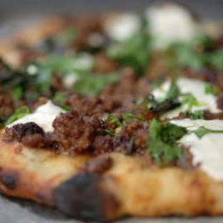 Lebanese-spiced Lamb Flatbread.