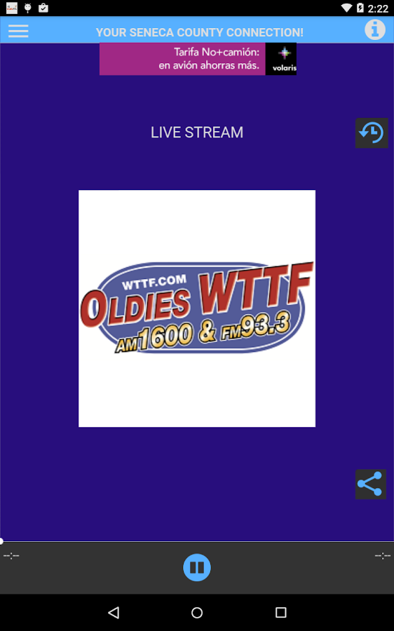 WTTF - AM 1600- screenshot