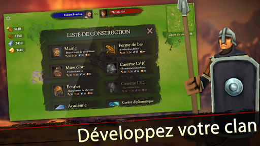 Télécharger Gratuit War of Kings: stratégie mobile apk mod screenshots 4