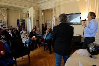 Photo: Conférence de Presse 23.05.13 au PC Expéditions Respectons La Terre
