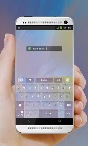 無料个人化Appのミスティフォレスト GO Keyboard|記事Game