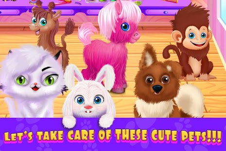 Puppy Pet Hair Salon Animal Fashion Hairstyle Apk By Casual Girl Games For Free Wikiapk Com
