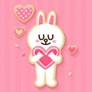 Pink Love Rabbit