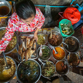 Lunch by VAM Photography - Food & Drink Plated Food ( market, lunch, places, culture, cambodia, travel, people, food,  )
