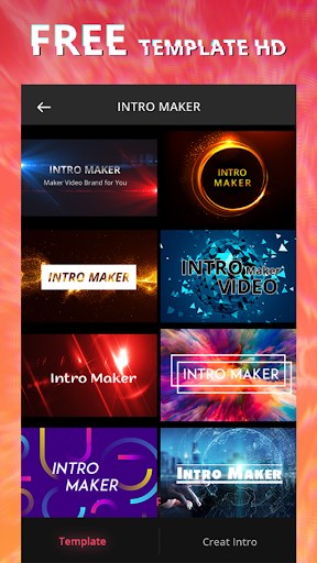 Intro Maker With Music, Video Maker & Video Editor 2.6.268 screenshots n 1