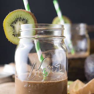 Earl Grey Tea Infused Cocoa Smoothie.
