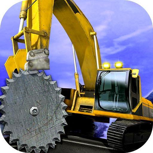 模擬App|アップ 丘 クレーン カッター 掘削機 LOGO-3C達人阿輝的APP