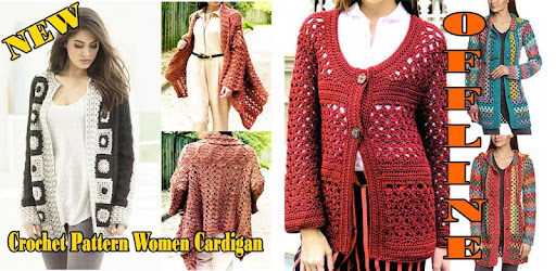 Приложения в Google Play – Crochet Pattern Women <b>Cardigan</b>