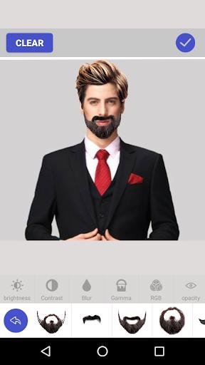 玩免費遊戲APP|下載Hair Mustache Style Changer app不用錢|硬是要APP