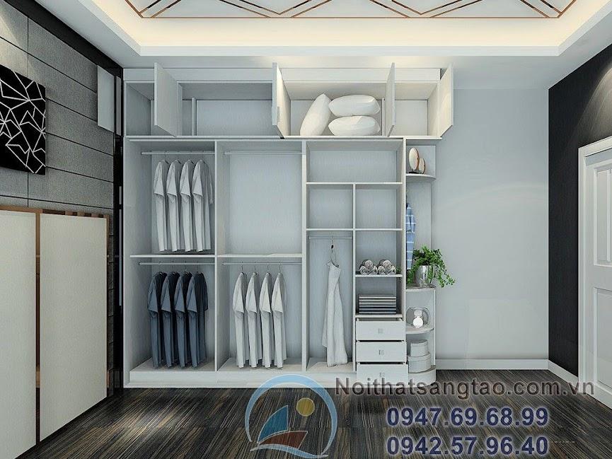 thiết kế phòng ngủ thanh lịch