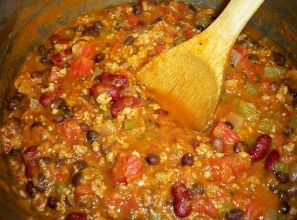 Turkey Pumpkin Chili Recipe