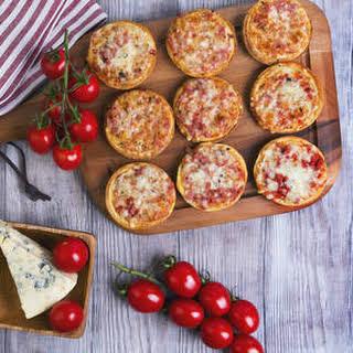 Bite-sized Mini Pizzas.