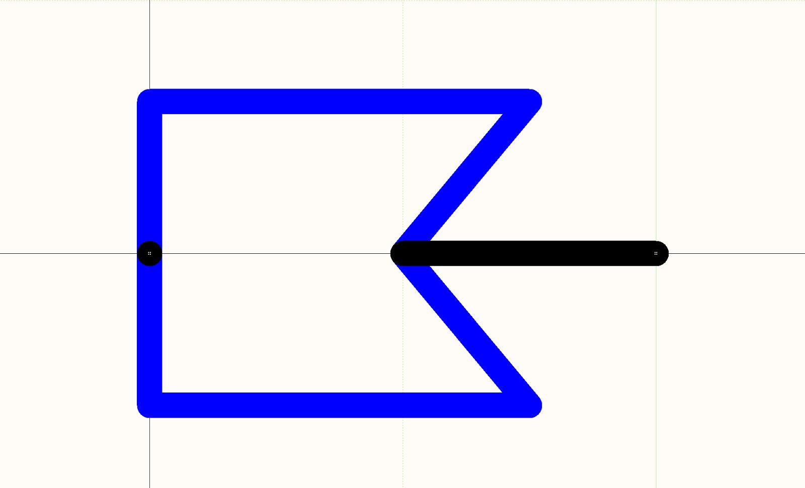 CAD-Zeichnung zum PCB-Kabeldesign: Abbildung 4.  Schaltzeichen der Steckbuchse